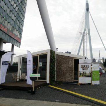 Biobased huis met marktpotentie geopend door minister Kamp
