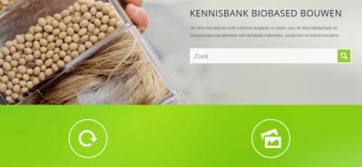 'Kennisbank voor biobased bouwen'