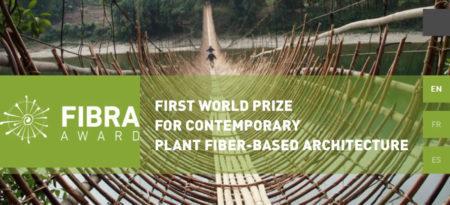 FIBRA Award for Contemporary Plant Fiber-Based Architecture