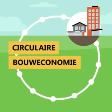 Animatiefilmpje van Rijksdienst voor Ondernemend Nederland over de circulaire bouweconomie