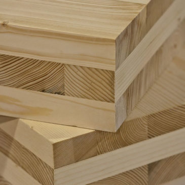 Houtbouwers met Cross Laminated Timber op TV