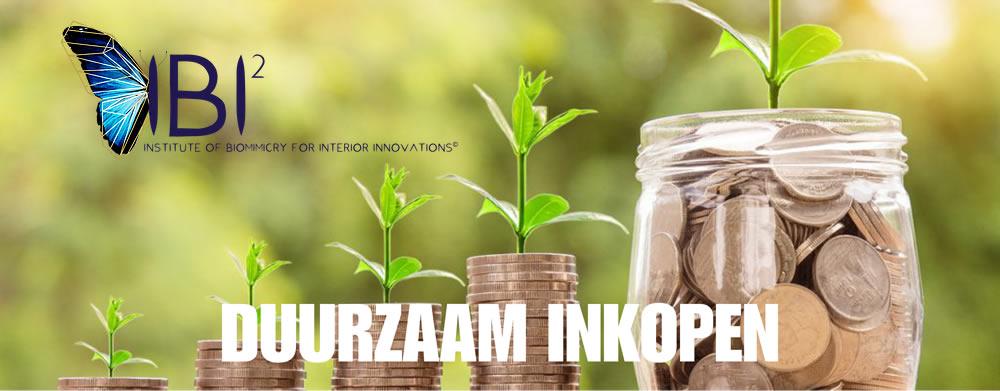 geld in steeds grotere potten met plantjes als metafoor voor duurzaam inkopen duurzame dwarsdenkers