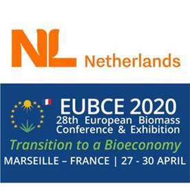 Nederland goed vertegenwoordigd tijdens de European Biomass Conference & Exhibition2020