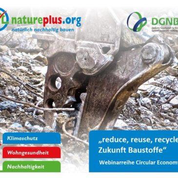 Online Natureplus Kongress zu Circular Economy