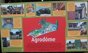 informatiebord project Agrodome