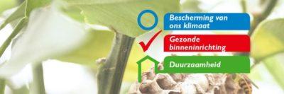 Natureplus claims bescherming klimaat, binneninrichting en duurzaamheid