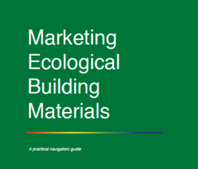 Marketing boekje Ecological building materials