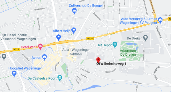locatie Agrodome op google maps