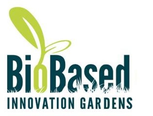 LOGO biobased. innovation gardens