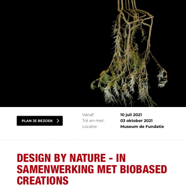 Museum de Fundatie – DESIGN BY NATURE
