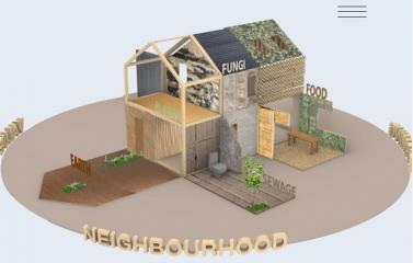 Circulair en bio-based beyond building verbeeld